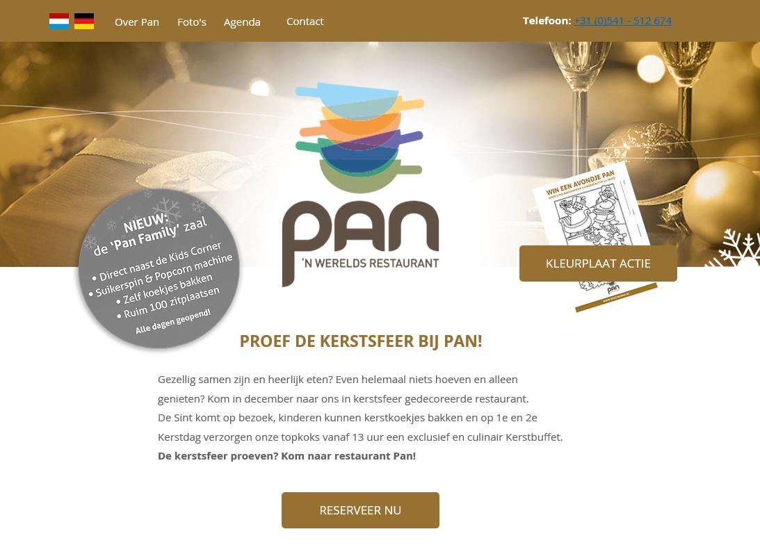 Vliegende Varkens – Restaurant Pan